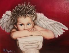 Le et di Cupido 2013 (mariolina.argentieri@yahoo.com) Tags: ali volo sguardo arco amore dei frecce capitello cupido braccia ciuffo incarnato figliodivenere