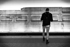 2014 01 12 - 3244 - DC - No Pants Metro Ride (thisisbossi) Tags: blackandwhite bw usa washingtondc blackwhite dc unitedstates underwear transit wmata washingtonmetropolitanareatransitauthority nopantssubwayride nopantsmetroride dcdefenestrators capitolimprov capitalimprov