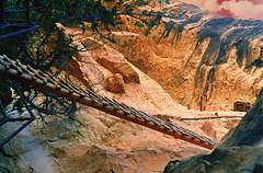 Colorado ~ Mesa Verde  National Park ~ World Heritage Site ~ Old 35mm Film (Onasill ~ Bill Badzo) Tags: world park county travel cliff verde heritage film architecture us site colorado united pueblo tourist historic unesco national co historical montezuma states cortez 1985 mesa attraction dwelling nrhp onasill