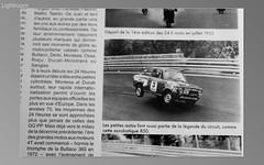 SEAT 850 E ESCUDERIAS CATALANAS (Manolo Serrano Caso) Tags: de 1 la seat e grupo manolo 1973 montjuich rosaleda 850 serrano circuito curva caso catalanas escuderias retrocourse