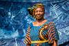 Kike, the Nigerian Artist (Devesh Uba) Tags: africa portrait westafrica nigeria africanart africanwoman fabricart africanpeople africanartist batikart nigerianwoman portraitsfromafrica potd:country=menaen