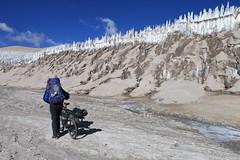 Pushing upvalley to Corona del Inca