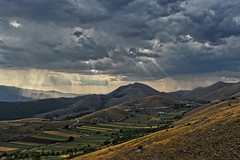 after storm... (sermatimati) Tags: light storm clouds montagne nikon nuvole day luce lentils abruzzo magia tempesta gransasso fascino santostefanodisessanio lenticchie sermatimati