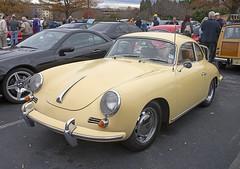 Porsche Cars Porsche 356c Coupe Thumpr455 Tags Auto Car Yellow Vintage Nikon