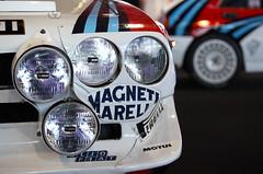 Lancia Delta S4 Integral. Fabricado en 1985 con 480 CV a 8.400 rpm con un peso de 980 kg.