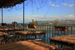 closed (bob_52) Tags: panorama lago piante ristorante castel terrazzo tavoli gandolfo
