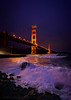 The Golden Gate Bridge (Andrew Louie Photography) Tags: camera bridge winter coffee night canon photography golden march gate san francisco long exposure waves jazz