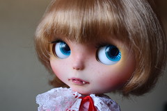 Mello *3* (Rainbowcoton *VERY BUSY* T^T) Tags: vampire ooak blythe custom sbl honeybunnyoncemore hbom