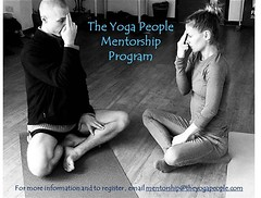 Calling all mentors! The Yoga People Mentorship Program needs you. Email mentorship@theyogapeople.com for more information and to register today. (The Yoga People) Tags: yoga jamie dulce theyogapeople
