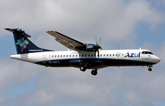 PR-AQO (GH@BHD) Tags: azul aircraft aviation lanzarote airliner turboprop atr atr72 arrecifeairport praqo