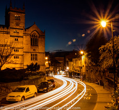 Shrewsbury Library Light Trails (johnkenyonphotography@gmail.com) Tags: longexposure photography shropshire shrewsbury lighttrails hdr johnkenyon