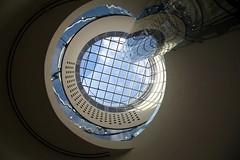 The Sky Above (Heaven`s Gate (John)) Tags: england art architecture modern birmingham interior skylight theskyabove atrium mecanoo johndalkin heavensgatejohn
