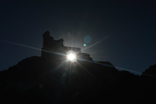Sunshine Through the Arch