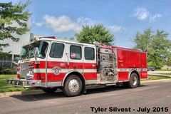 OFD Reserve Engine Ex-Engine 51 (KansasScanner) Tags: fire kansas olathe