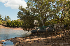Saltwater Crocodile Trap at Rapid Creek (Jules Farquhar.) Tags: creek landscape nt darwin mangrove tropical croc trap rapidcreek northernterritory saltwatercrocodile northernaustralia estuarine australianlandscapes ntaustralia croctrap julesfarquhar