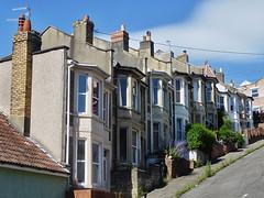 Bristol - Totterdown, Vale Street (fb81) Tags: road street uk greatbritain west bristol unitedkingdom south vale suburb residential steep totterdown