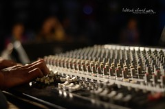 The Controller. (mohapurush-ishtiak) Tags: nightphotography music nikon controller popmusic bangladesh bandmusic 50mmf18 rangpur musicmixer nikond7000