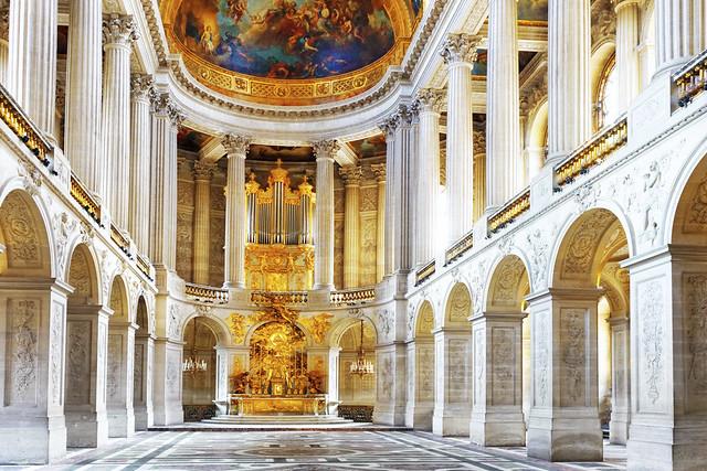 ベルサイユ宮殿見学(パリ発のオプショナルツアー)