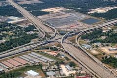 Sam Houston Parkway and Eastex Freeway Interchange (Ray Cunningham) Tags: sam houston parkway freeway interchange eastex