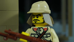 Lego Japanese Soldier (Force Movies Productions) Tags: lego japanese soldier brickmania minfig photograph wwii brickarms banzai toy second sinojapanese war troop empire japan arisaka custom bricks