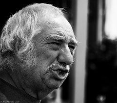 The Shout (Neil. Moralee) Tags: middevoncountyshowtivertonneilmoralee neilmoralee man shout shouting anger frustration face close portrait neil moralee nikon d7100 devon county show farmer old mature balding nose scream rage