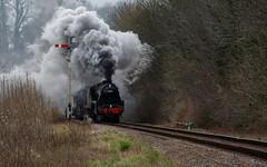 LMS Black 5 45379 - Mad Hants Photo Charter (timz2011) Tags: lmsblack5 black5 lms 45379 madhantsphotocharter midhantsrailway watercressline