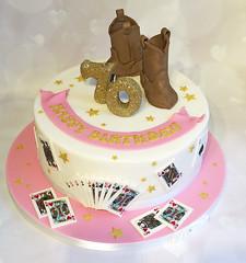 Cowboy Boots Bridge Cake