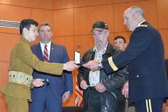 170326-Z-OU450-061 (North Carolina National Guard) Tags: northcarolinanationalguard worldwarone veterans spanishamericanwar veteranslegacyfoundation legacy medal