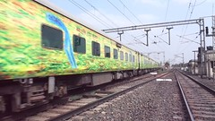Howrah New Delhi Duronto (Abhijay Chakraborty) Tags: video holi colours happiness occasion festival howrah wap4 22402 12273 new delhi duronto express talit barddhaman asansol speed cracking track sound railways indian railfans railfanning railroad irfca indianralways trains trainspotting locomotives