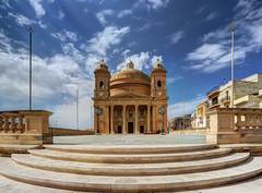 Mgarr Parish Church, Malta (Davide Seddio) Tags: republicofmalta malta europe parishchurchoftheassumptionoftheblessedvirginmaryinto mgarrchurch mgarr architecture