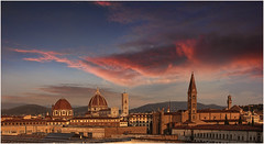 Burnin' Sky (Giovanni Giannandrea) Tags: florence sunrise firenze italia toscana sky burninsky