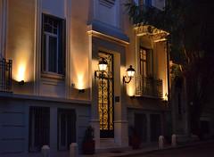 Typical house on the Plaka, Athens (Alona Azaria) Tags: plaka athens night greece greek street d800 nikon nikkor 28300mmf3556