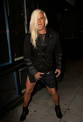 A Drunk Daniel DiCriscio Grabs his Crotch in a Mini Kilt on St. Patrick's Day (Daniel DiCriscio) Tags: androgynous kilts lgbtq lgbt bisexual bi gay candid infamous gorgeous beautiful hollywood west sunsetstrip 2017 stpattysday stpatricksday paparazzi dick bulges bulge grabbing grab crotch bending bender gender outfits outfit scottish irish inebriated intoxicated drunken drinking drunk scandalous scandal people famous celebs celeb celebrities celebrity entertainment gossip news style fashion hot sexy guys male men short kilt mini legs tan longhair blonde dicriscio daniel danieldicriscio