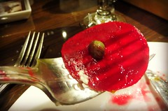 Beets are healthy, let's eat more! (Trinimusic2008 - stay blessed) Tags: trinimusic2008 judymeikle food restaurant beet caper march 2017 random table forks prongs