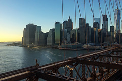 Brooklyn Bridge # 1 (Les 3 couleurs) Tags: nyc newyork brooklynbridge parmaëlle ponts bridge