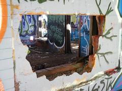 sgs6 (daily observer) Tags: philadelphia abandoned abandonedphiladelphia abandonesrailroadstation abandonedtrainstation urban urbandecay graffiti philadelphiagraffiti