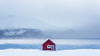 Snowed in (Pete Rowbottom, Wigan, UK) Tags: norway snow snowstorm blizzard mountains snowy lonehouse peterowbottom landscape badweather weather dramatic lonely attractive wow beautiful peaceful winter winterlandscape scandinavian norge sea seascape colourful coast coastline norwaycoast troms tromso mjelde fog mist lowcloud arcticcircle arctic redhouse contrast outdoor remote norway2017 nikond750 minimalistic impact bluesea composition breakingtherules centralcomposition arcticstorm bakkejord fjord seafjord explore inexplore explored europe desolate cold