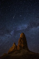 Making a Wish (EricGail_AdventureInFineArtPhotography) Tags: ericgail 21studios canon canon6d 6d explore interesting interestingness photoshop lightroom nik software landscape nature infocus adjust california photo photographer ca cs6 picture adventureinfineartphotography nightscape trona tronapinnacles shootingstar stars sky desert pinnacle lll lowlevellighting