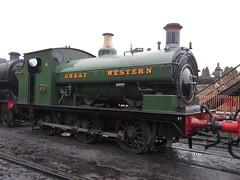 IMG_3801 - GWR Hudswell Clarke Saddle Tank 813 (SVREnthusiast) Tags: severnvalleyrailway svr severnvalley severn valley railway