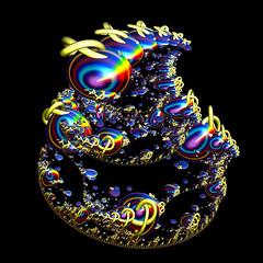 Twisty Gems (FractallyAware) Tags: fractallyaware fractal 3dfractalart incendia