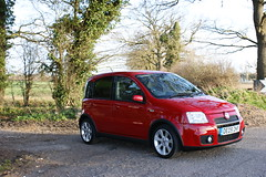 Fiat Panda 100HP (LukeB95) Tags: red car fun hp panda fiat 100 firstcar sporty 16v 100hp