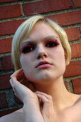 13 (RebeccaLynnPhotography8) Tags: pink portrait female photoshop makeup cannon expressive editing piercings artistry