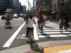 en bici por Tokyo :)