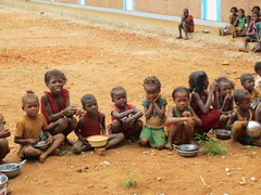 waiting patiently (theancientpath) Tags: poverty school village hunger madagascar cyclone nutrition malnourishment mikea