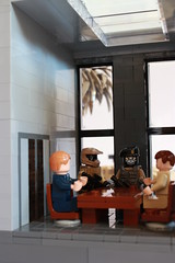 Deception Interior 2 (✠Andreas) Tags: lego military apc thepurge legodiorama legoapoc desertapoc thepurgeusa