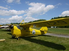 "Aeronca C3 (original) USA 1931 ""Flying Bathtub"" (lulun & kame) Tags: usa newyork america upstateny   olympusm918mmf4056"