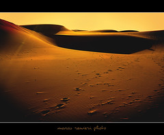Sunset over the Moroccan desert (marcorenieri) Tags: