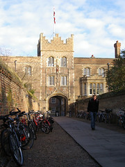 Entrance to Jesus College
