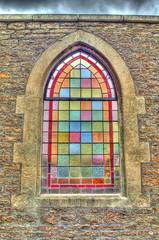Stained Glass Window, Nunney