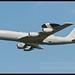 RAF E-3D Sentry Flypast